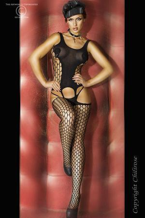 CHILIROSE Lingerie: Bodystocking con asolature