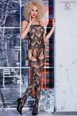 Multi-string bodystocking with embroideries.